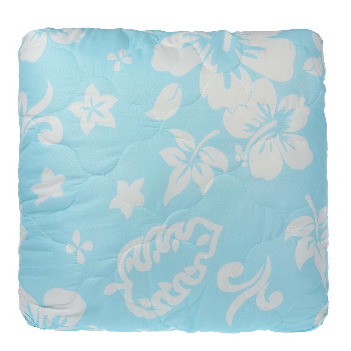 Подушка Dargez Бомбей, наполнитель: бамбуковое волокно, цвет: голубой, 68 см х 68 см03(23)141ЕПодушка Dargez Бомбей подарит комфорт и уют во время сна. Чехол подушки, выполненный из микрофибры, оформлен фигурной стежкой, которая надежно удерживает наполнитель внутри. Волокно на основе бамбука - инновационный наполнитель, обладающий за счет своей пористой структуры хорошей воздухонепроницаемостью и высокой гигроскопичностью, обеспечивает оптимальный уровень влажности во время сна и создает чувство прохлады в жаркие дни. Антибактериальный эффект наполнителя достигается за счет содержания в нем специального компонента, а также за счет поглощения влаги, что создает сухой микроклимат, препятствующий росту бактерий. Основные свойства волокна: - хорошая терморегуляция, - свободная циркуляция воздуха, - антибактериальные свойства, - повышенная гигроскопичность, - мягкость и легкость, - удобство в эксплуатации и легкость стирки. Рекомендации по уходу: - Стирка при температуре не более 40°С. ...