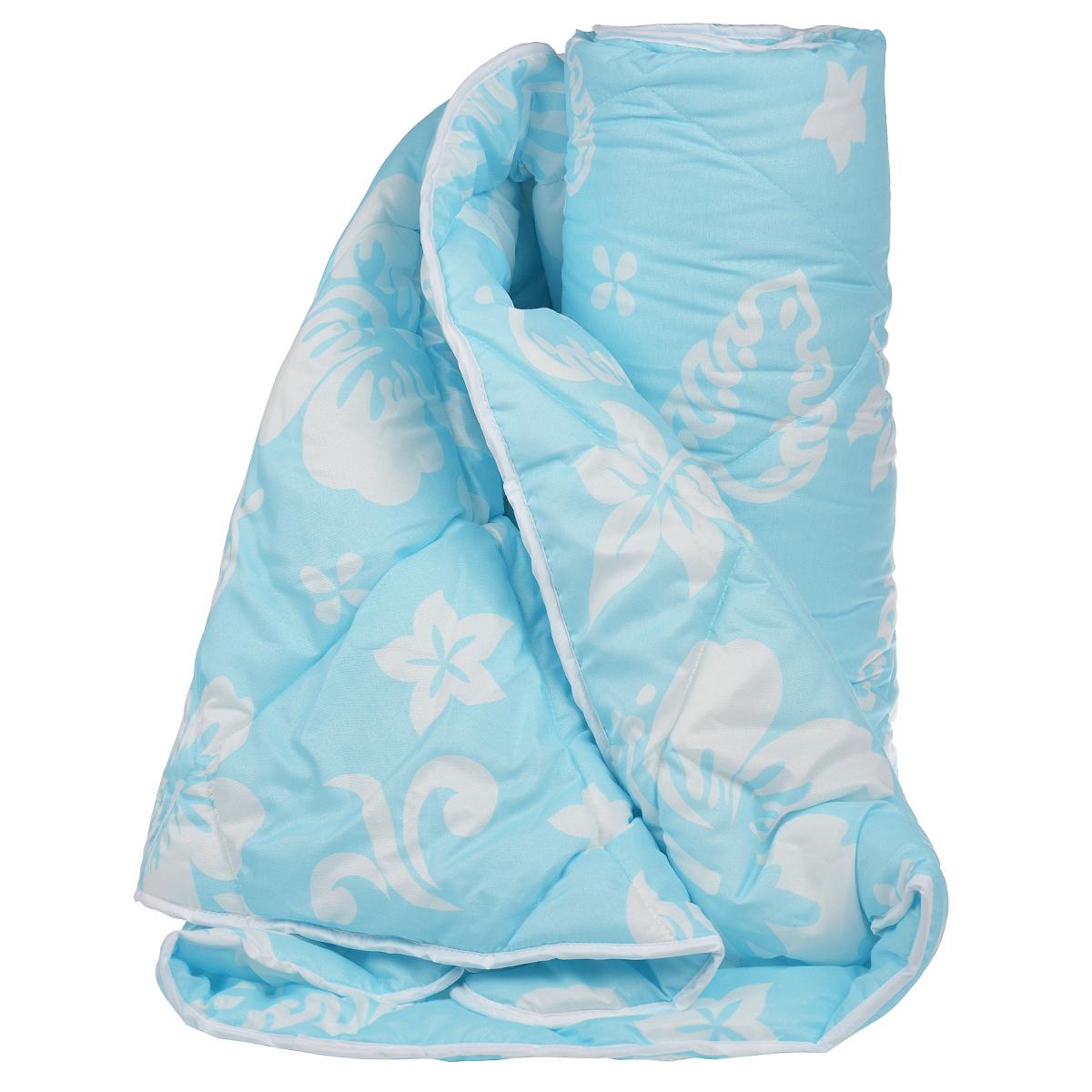 Одеяло Dargez Бомбей, наполнитель: бамбуковое волокно, цвет: голубой, белый, 140 х 205 см22(23)341Одеяло Dargez Бомбей подарит комфорт и уют во время сна. Чехол одеяла, выполненный из микрофибры, оформлен фигурной стежкой, которая надежно удерживает наполнитель внутри. Волокно на основе бамбука - инновационный наполнитель, обладающий за счет своей пористой структуры хорошей воздухонепроницаемостью и высокой гигроскопичностью, обеспечивает оптимальный уровень влажности во время сна и создает чувство прохлады в жаркие дни. Антибактериальный эффект наполнителя достигается за счет содержания в нем специального компонента, а также за счет поглощения влаги, что создает сухой микроклимат, препятствующий росту бактерий. Основные свойства волокна: - хорошая терморегуляция, - свободная циркуляция воздуха, - антибактериальные свойства, - повышенная гигроскопичность, - мягкость и легкость, - удобство в эксплуатации и легкость стирки. Рекомендации по уходу: - Стирка при температуре не более 40°С. - Запрещается...
