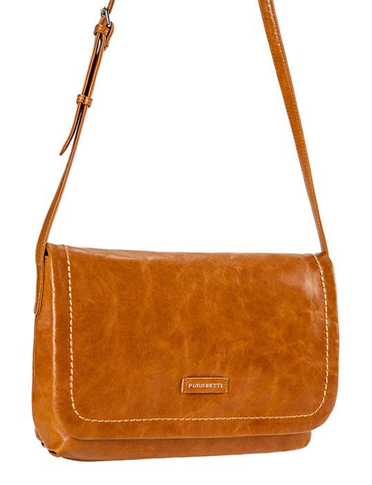 Сумка женская Pimobetti, цвет: оранжевый. 13561BL113561BL1Изысканная женская сумка Pimobetti выполнена из натуральной кожи и декорирована прострочкой, а также нашивкой с серебристым тиснением логотипа бренда. Модель закрывается клапаном на магнитную кнопку. Внутри - одно отделение, в котором имеется плоский карман на застежке-молнии, три накладных кармашка для мобильного телефона и мелочей. На внешней задней стороне - втачной карман на застежке-молнии. Длинная кожаная ручка-ремешок позволяет носить сумку на плече. В комплекте чехол для хранения. Привлекательная сумка внесет элегантные нотки в ваш образ и подчеркнет ваше отменное чувство стиля.