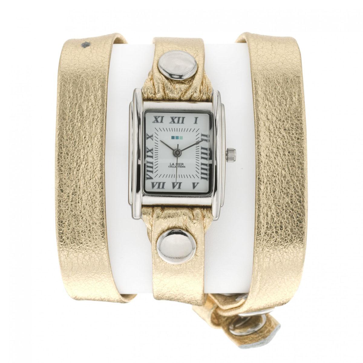 """Часы наручные женские La Mer Collections """"Simple Metallic/Gold"""". LMMTW1001 ( LMMTW1001 )"""
