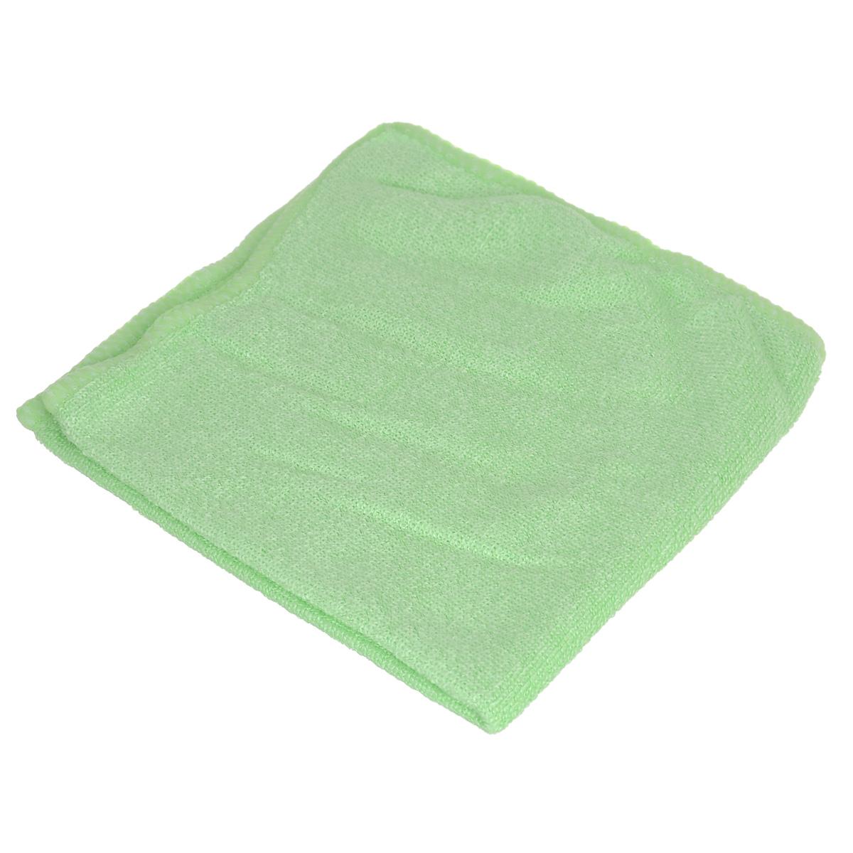 Салфетка из микрофибры для уборки Youll Love, цвет: светло-зеленый, 30 х 30 см. 5804458044Салфетка Youll Love, изготовленная из микрофибры (70% полиэфир и 30%полиамид), предназначена для очищения загрязнений на любых поверхностях. Изделие обладает высокой износоустойчивостью и рассчитано на многократное использование, легко моется в теплой воде с мягкими чистящими средствами. Супервпитывающая салфетка не оставляет разводов и ворсинок, удаляет большинство жирных и маслянистых загрязнений без использования химических средств.