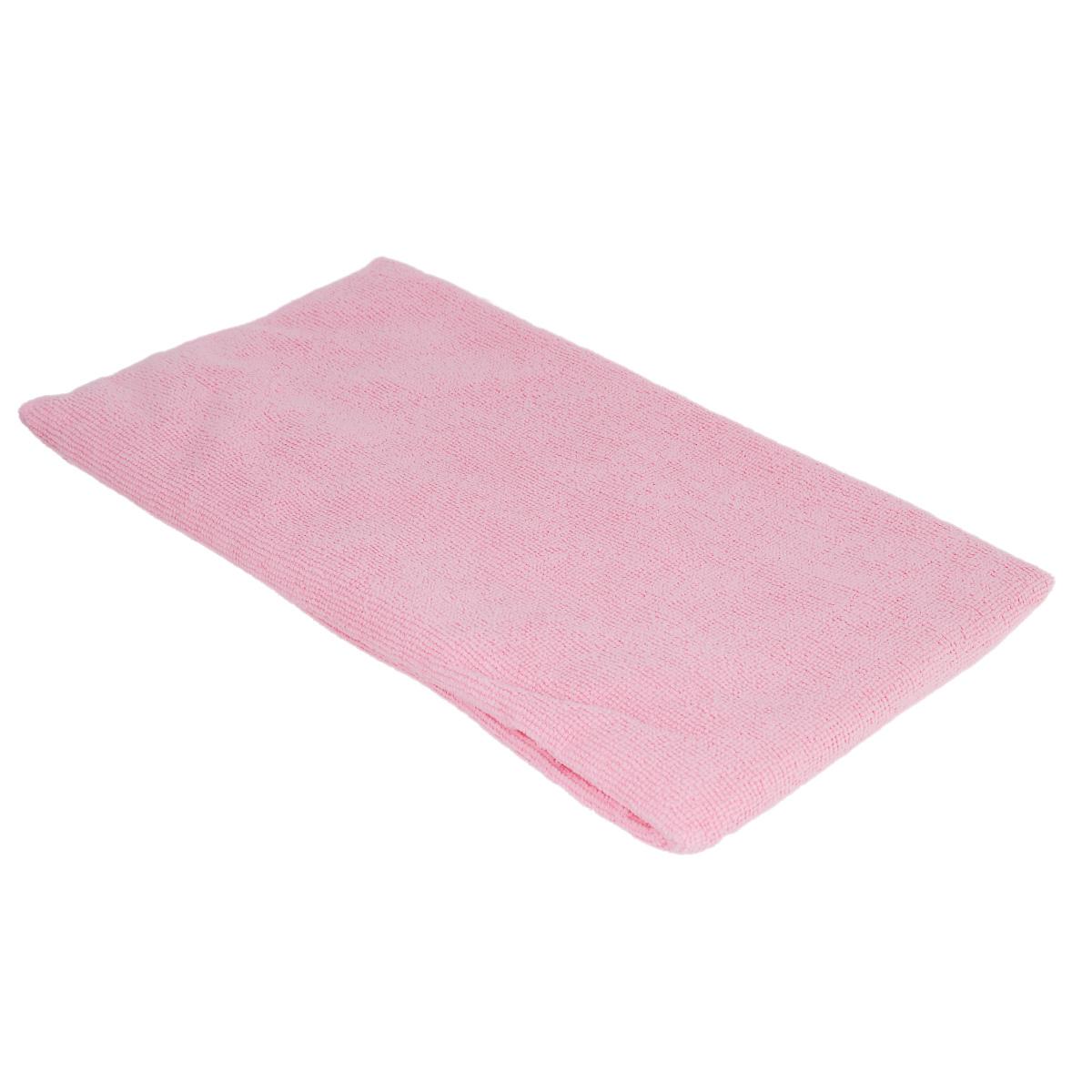 Тряпка для пола Home Queen Макси, цвет: розовый, 70 см х 80 см66371Тряпка для пола Home Queen Макси выполнена из микрофибры и предназначена для мытья напольных покрытий из любых материалов. Эффективно очищает любую поверхность, отлично отжимается и имеет долгий срок службы. Применяется для влажной и сухой уборки. Размер тряпки: 70 см х 80 см.