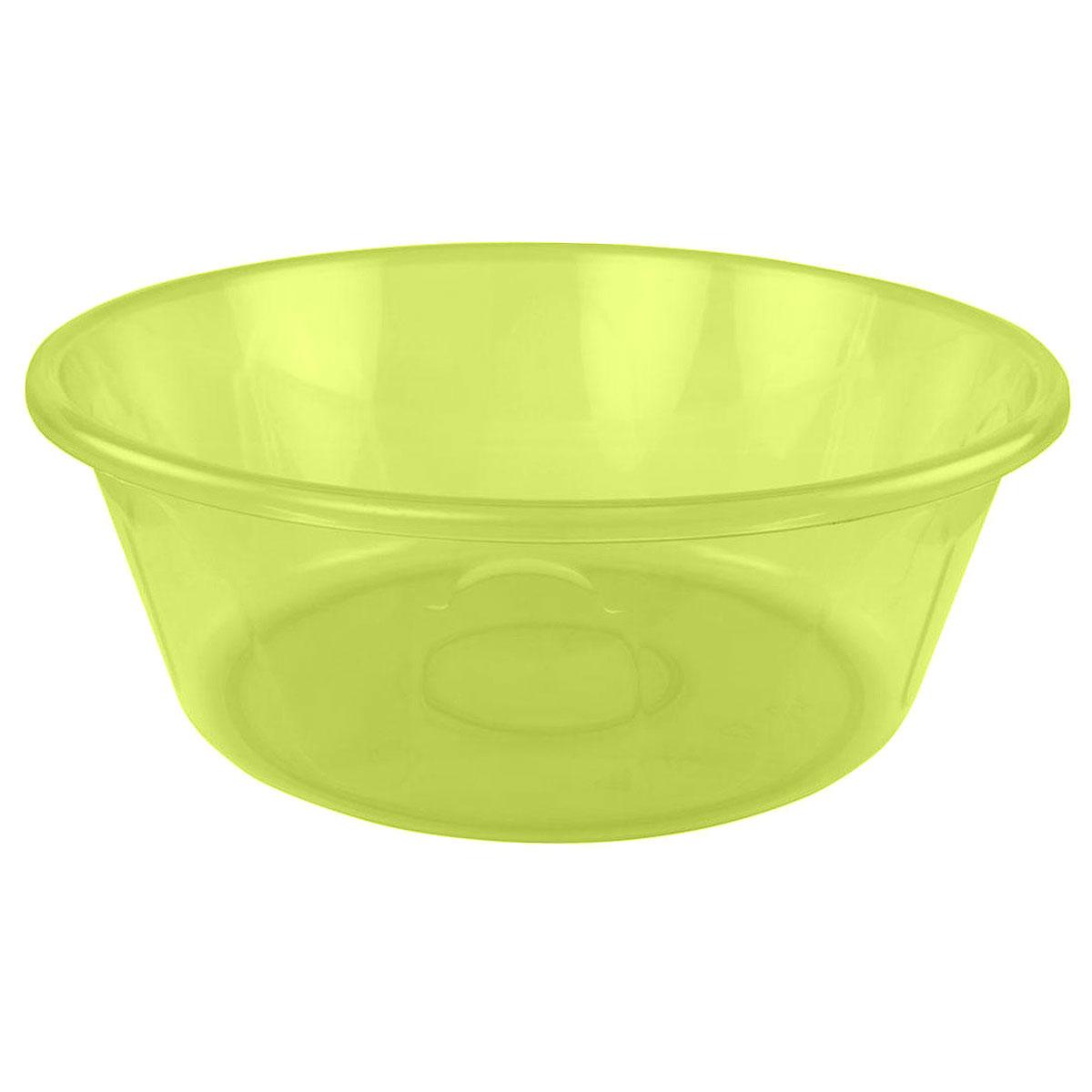 Таз Альтернатива Хозяюшка, цвет: желтый, 15 лМ1300Таз Альтернатива Хозяюшка изготовлен из высококачественного полупрозрачного пластика. Он выполнен в классическом круглом варианте. По бокам имеются удобные углубления, которые обеспечивают удобный захват. Таз предназначен для стирки и хранения разных вещей. Он пригодится в любом хозяйстве. Диаметр (по верхнему краю): 43 см. Высота: 16 см.