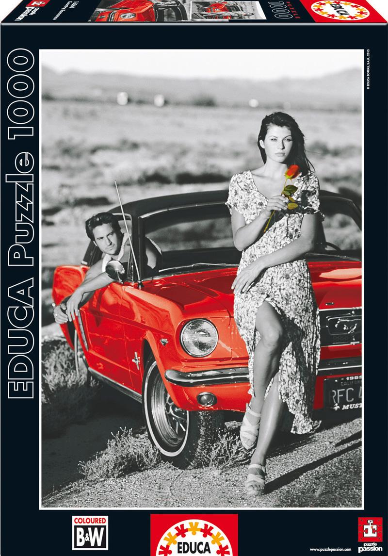 Деревенская романтика. Пазл, 1000 элементов16360Пазл Educa Деревенская романтика непременно придется по душе вам и вашему ребенку. Собрав этот пазл, включающий в себя 1000 элементов, вы получите оригинальный постер с изображением девушки с розой у красной машины. Пазл выполнен из высококачественных материалов, что обеспечивает идеальное прилегание деталей. Кроме того, после сборки вы сможете склеить части мозаики. Клей FixPuzzle в комплекте. Компания Educa имеет уникальный сервис: бесплатная доставка в любую точку мира потерянной детали. Пазл - великолепная игра для семейного досуга. Сегодня собирание пазлов стало особенно популярным, главным образом, благодаря своей многообразной тематике, способной удовлетворить самый взыскательный вкус. А для детей это не только интересно, но и полезно. Собирание пазла развивает мелкую моторику у ребенка, тренирует наблюдательность, логическое мышление, знакомит с окружающим миром, с цветом и разнообразными формами.