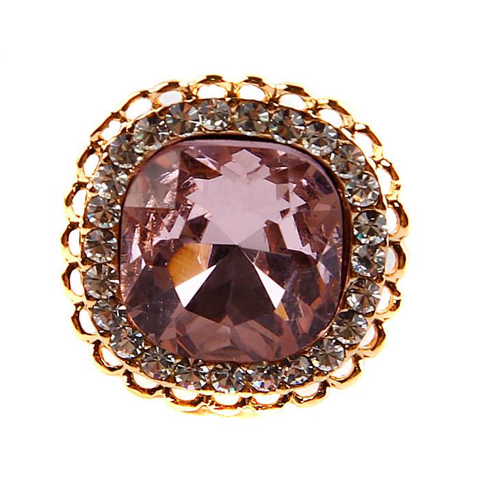 Брошь Розовый кристалл. Металл, австрийский кристалл. Конец XX векаОС22800-1Брошь Розовый кристалл. Металл, австрийский кристалл. Западная Европа, конец ХX века. Длина 2 см, ширина 2 см. Сохранность хорошая. Брошь сделана в форме квадратного кристалла яркого розового цвета. Прекрасный аксессуар для вечернего наряда! Подчеркните грацию и женственность!