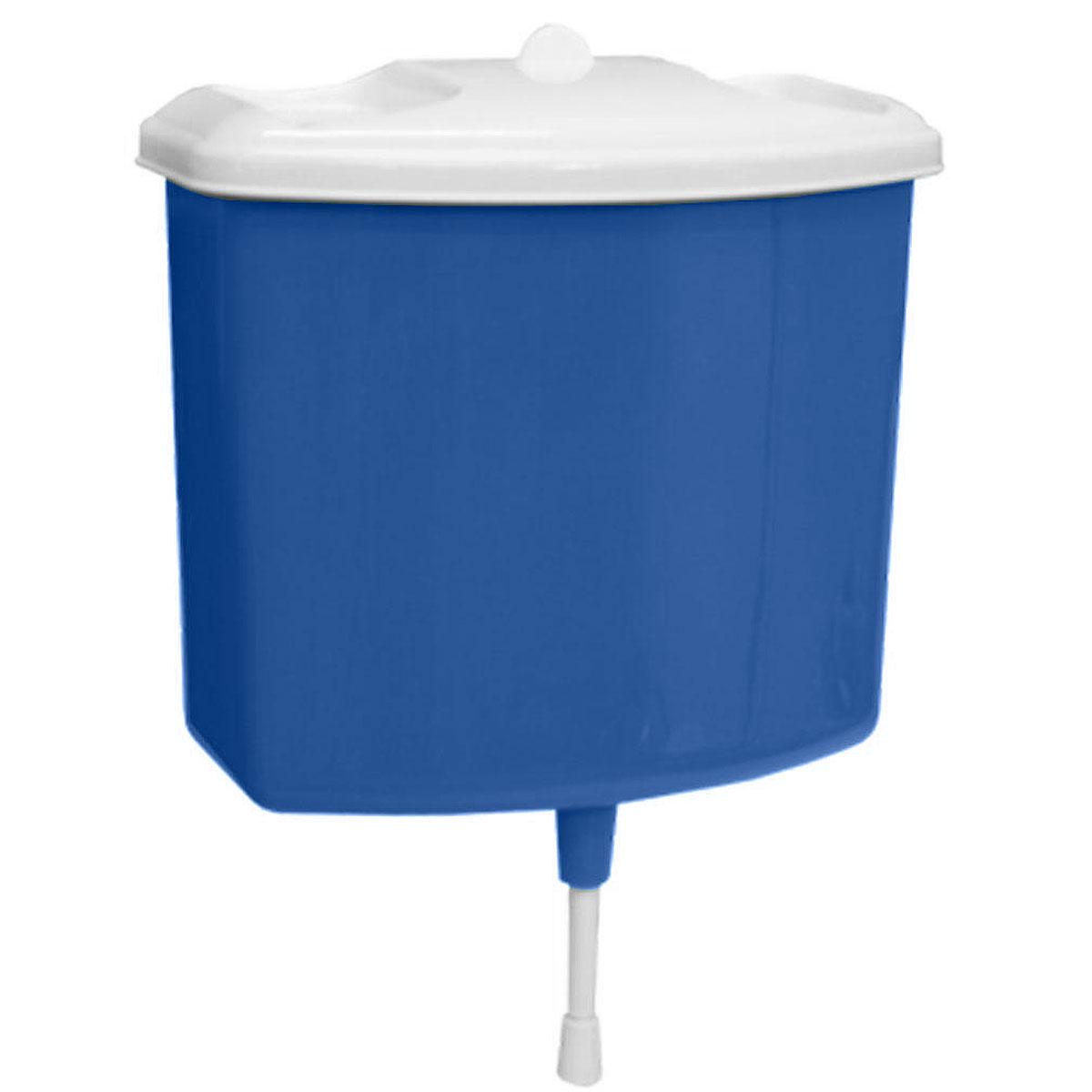 Рукомойник Альтернатива, цвет: синий, 5 лМ367Рукомойник Альтернатива изготовлен из пластика. Он предназначен для умывания в саду или на даче. Яркий и красочный, он отлично впишется в окружающую обстановку. Петли предоставляют вертикальное крепление рукомойника. Рукомойник оснащен крышкой, которая предотвращает попадание мусора. Также на крышке имеет две выемки для мыла. Рукомойник Альтернатива надежный и удобный в использовании. Размер рукомойника: 26,5 см х 15 см. Высота (без учета крышки): 23 см.