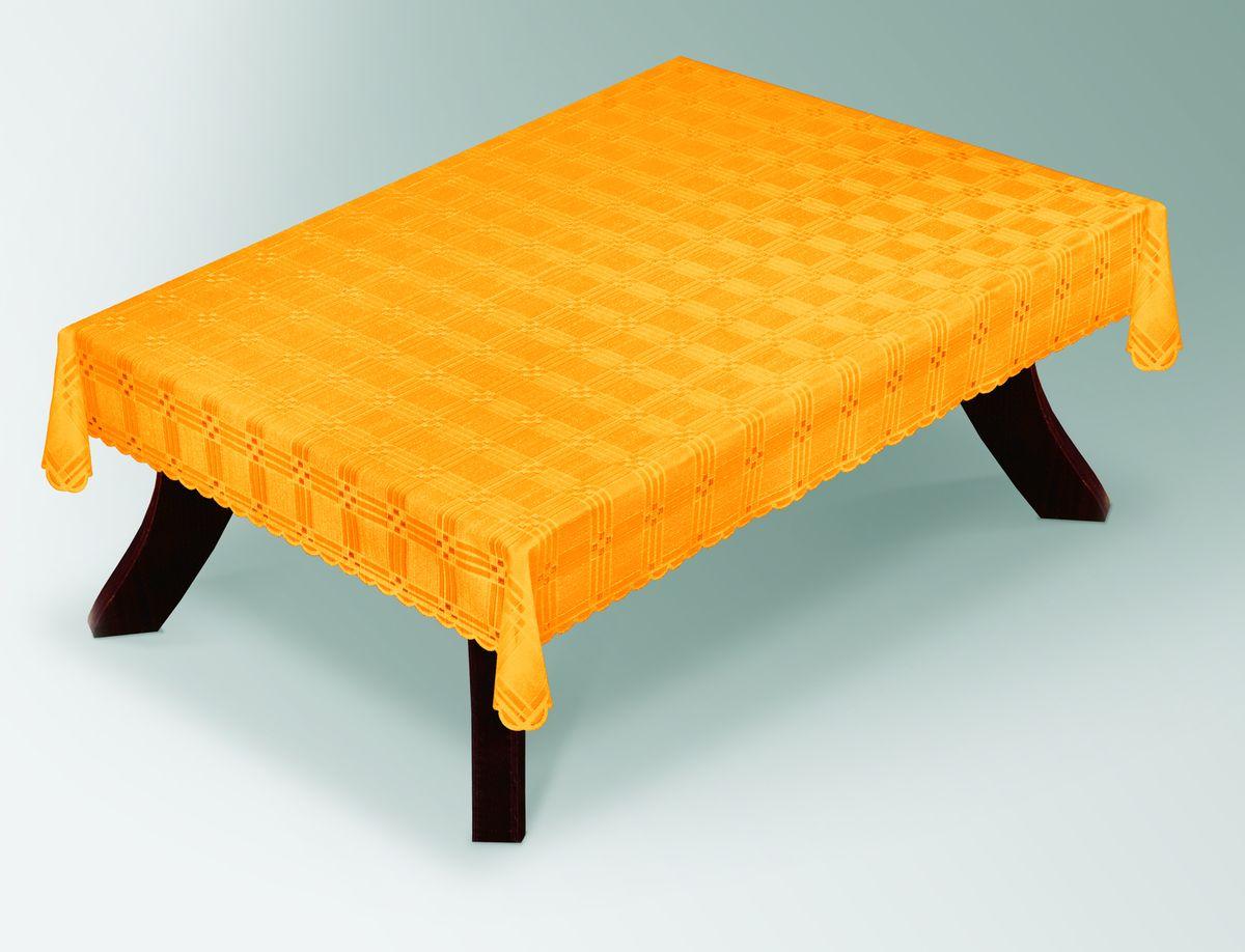 Скатерть Haft Gold Line, прямоугольная, цвет: желтый, 100 x 150 см. 203490/100203490/100 жёлтыйВеликолепная прямоугольная скатерть Haft Gold Line, выполненная из полиэстера, органично впишется в интерьер любого помещения, а оригинальный дизайн удовлетворит даже самый изысканный вкус. Скатерть изготовлена из сетчатого материала с ажурным геометрическим рисунком. Края скатерти ажурные. Скатерть Haft Gold Line создаст праздничное настроение и станет прекрасным дополнением интерьера гостиной, кухни или столовой.