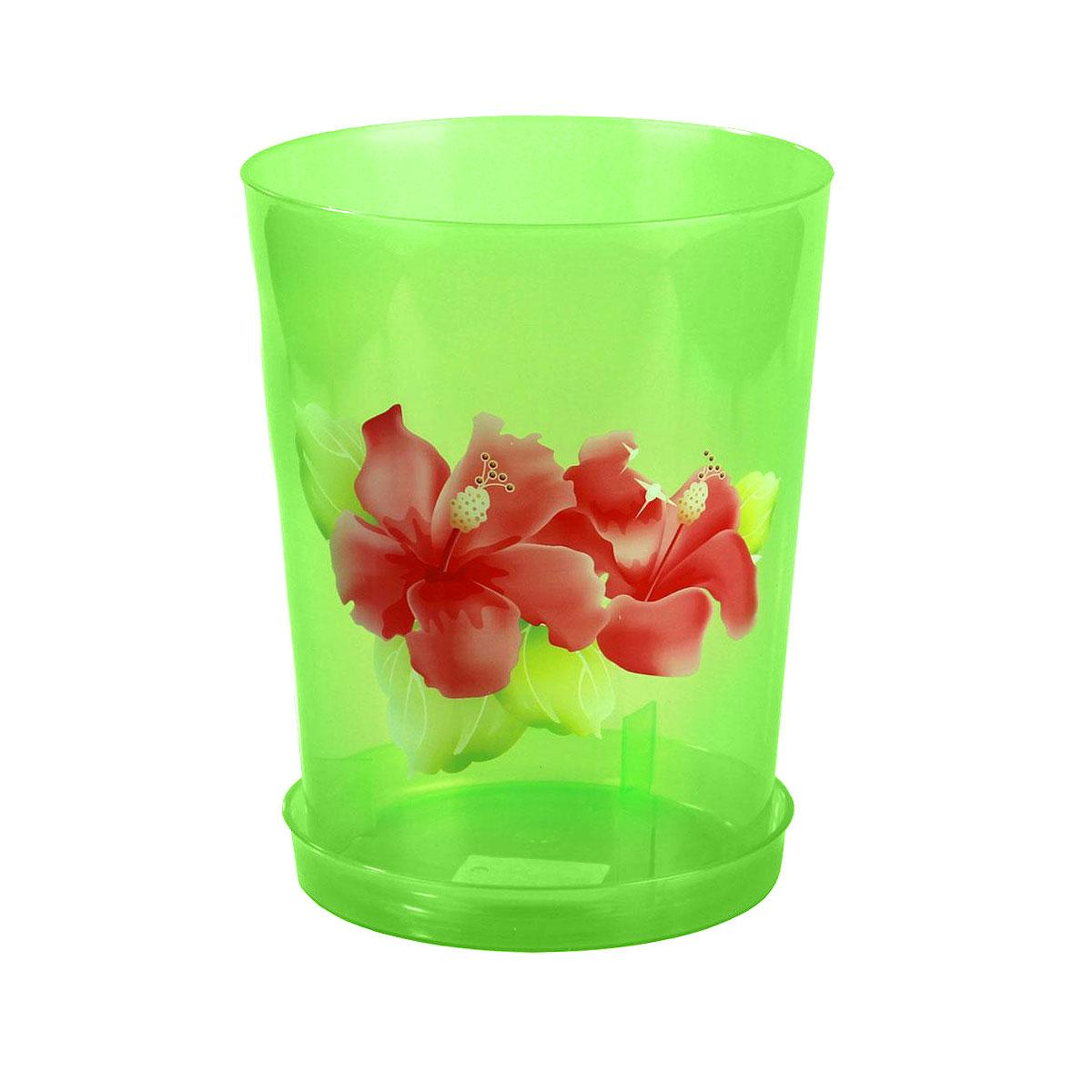 Горшок для орхидей Альтернатива, цвет: зеленый, 3,5 лМ1455Цветочный горшок Альтернатива выполнен из пластика и предназначен для выращивания в нем цветов, растений и трав. Такой горшок порадует вас современным дизайном и функциональностью, а также оригинально украсит интерьер помещения. К горшку прилагается поддон.