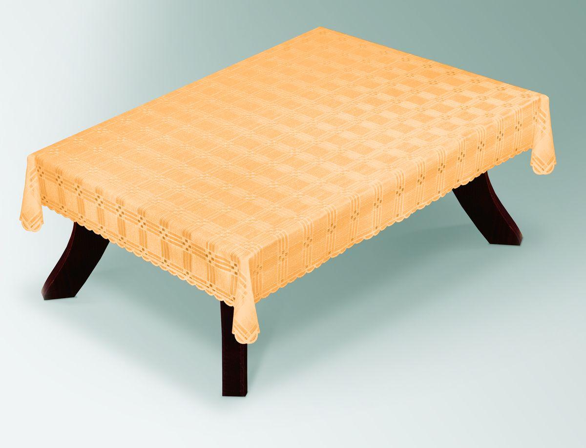 Скатерть Haft Gold Line, прямоугольная, цвет: лососевый, 100 x 150 см. 203490/100203490/100 лососьВеликолепная прямоугольная скатерть Haft Gold Line, выполненная из полиэстера, органично впишется в интерьер любого помещения, а оригинальный дизайн удовлетворит даже самый изысканный вкус. Скатерть изготовлена из сетчатого материала с ажурным геометрическим рисунком. Края скатерти ажурные. Скатерть Haft Gold Line создаст праздничное настроение и станет прекрасным дополнением интерьера гостиной, кухни или столовой.