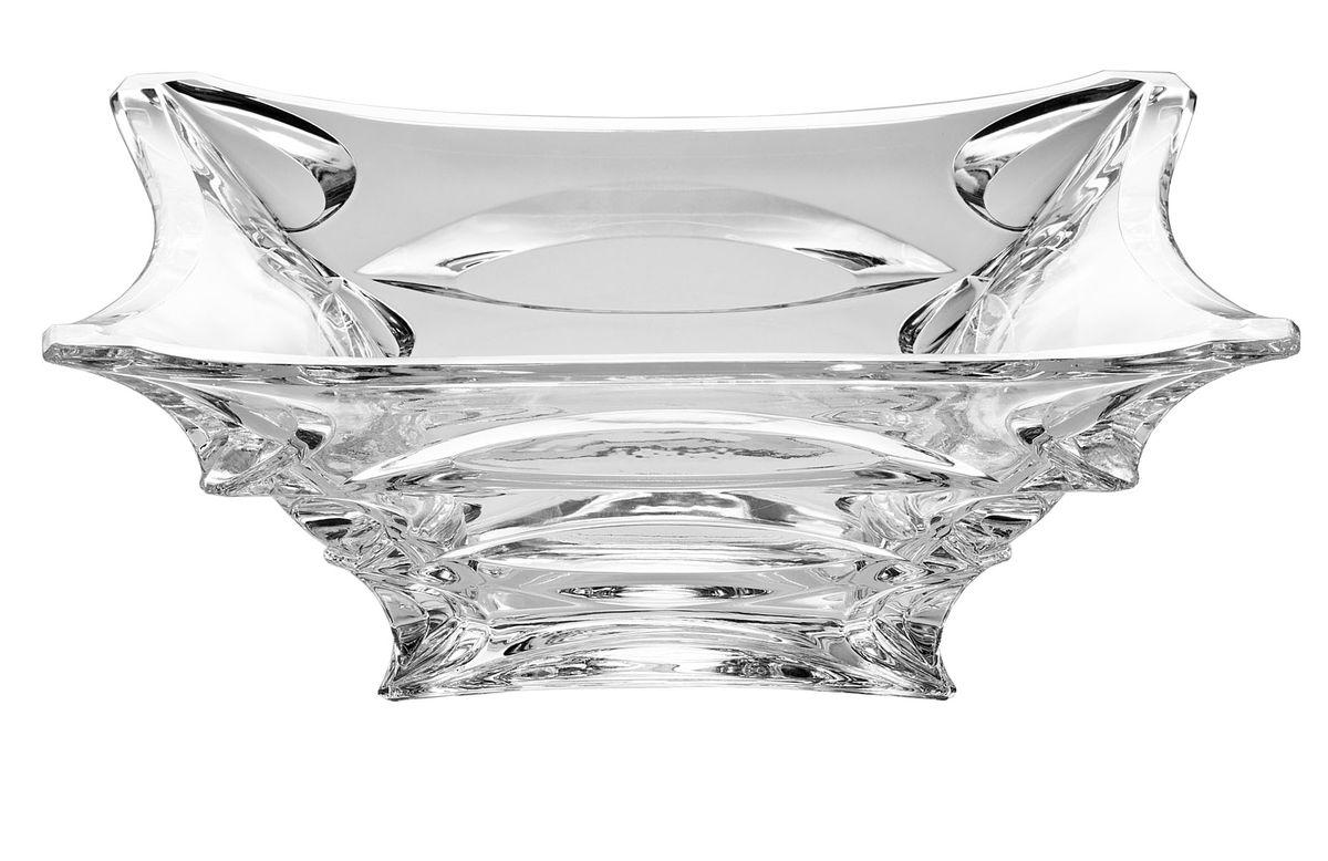 Салатник Crystal Bohemia X-Lady, 29 х 29 см920/60613/0/39750/290-109Салатник Crystal Bohemia X-Lady изготовлен из хрусталя и выполнен в форме большой квадратной чаши, декорированной рельефным рисунком. Данный салатник сочетает в себе изысканный дизайн с максимальной функциональностью. Он прекрасно впишется в интерьер вашей кухни и станет достойным дополнением к кухонному инвентарю. Такой салатник не только украсит ваш кухонный стол и подчеркнет прекрасный вкус хозяйки, но и станет отличным подарком.