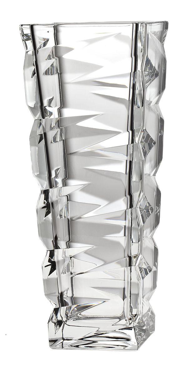 Ваза Crystal Bohemia, высота 31,5 см920/83715/0/59418/330-109Ваза Crystal Bohemia выполнена из прочного высококачественного хрусталя и декорирована рельефом. Она излучает приятный блеск и издает мелодичный звон. Ваза сочетает в себе изысканный дизайн с максимальной функциональностью. Ваза не только украсит дом и подчеркнет ваш прекрасный вкус, но и станет отличным подарком.