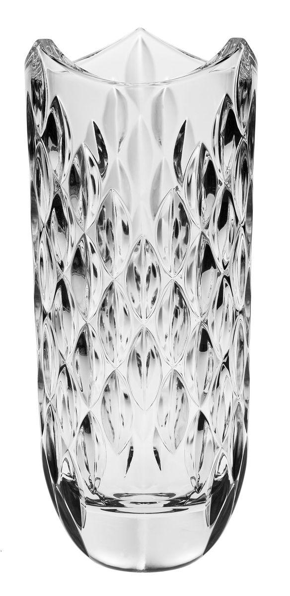 Ваза Crystal Bohemia, высота 33 см990/80811/0/54100/330-109Ваза Crystal Bohemia выполнена из прочного высококачественного хрусталя, имеет неровные края и декорирована рельефом. Она излучает приятный блеск и издает мелодичный звон. Ваза сочетает в себе изысканный дизайн с максимальной функциональностью. Ваза не только украсит дом и подчеркнет ваш прекрасный вкус, но и станет отличным подарком.