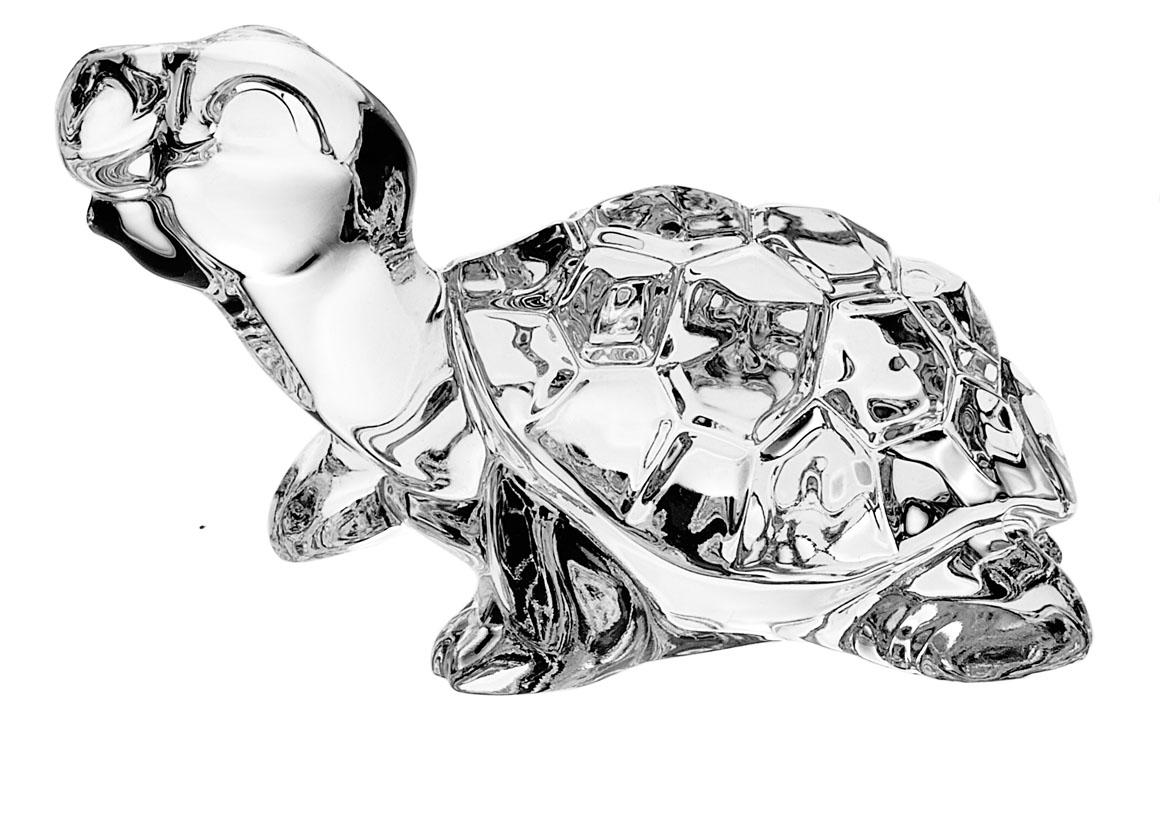 Фигурка декоративная Crystal Bohemia Черепаха, высота 6 см990/75110/0/58900/100-109Фигурка Crystal Bohemia Черепаха изготовлена из высококачественного хрусталя. Фигурка выполнена в виде черепахи и сочетает в себе изысканный дизайн и лаконичность. Она прекрасно подойдет для декора интерьера дома или офиса и станет достойным дополнением к вашей коллекции. Вы можете поставить фигурку в любом месте, где она будет удачно смотреться и радовать глаз. Кроме того - это отличный вариант подарка для ваших близких и друзей.