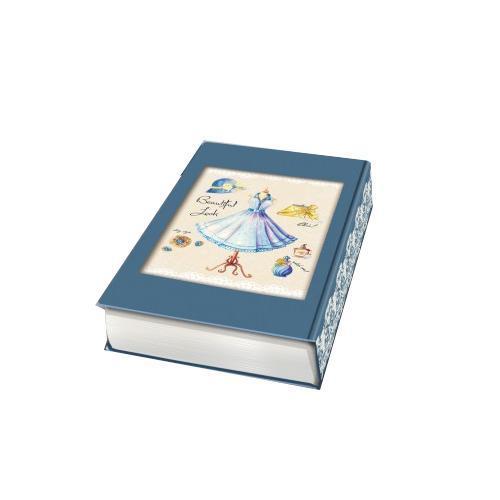 Декоративная шкатулка Маленькое голубое платье, 17 см х 11 см х 5 см37320Декоративная шкатулка Маленькое голубое платье - это стильная, оригинальная и удобная шкатулка, которая сделана из МДФ. Изделие предназначено для хранения мелочей. Данная модель очень удобна в использовании. Оригинальный дизайн делает шкатулку отличным подарком.