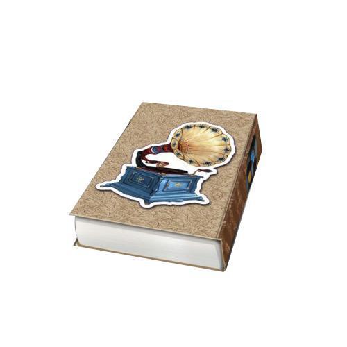 Декоративная шкатулка Граммофон, 17 см х 11 см х 5 см37321Декоративная шкатулка Граммофон - это стильная, оригинальная и удобная шкатулка, которая сделана из МДФ. Изделие предназначено для хранения мелочей. Данная модель очень удобна в использовании. Оригинальный дизайн делает шкатулку отличным подарком.