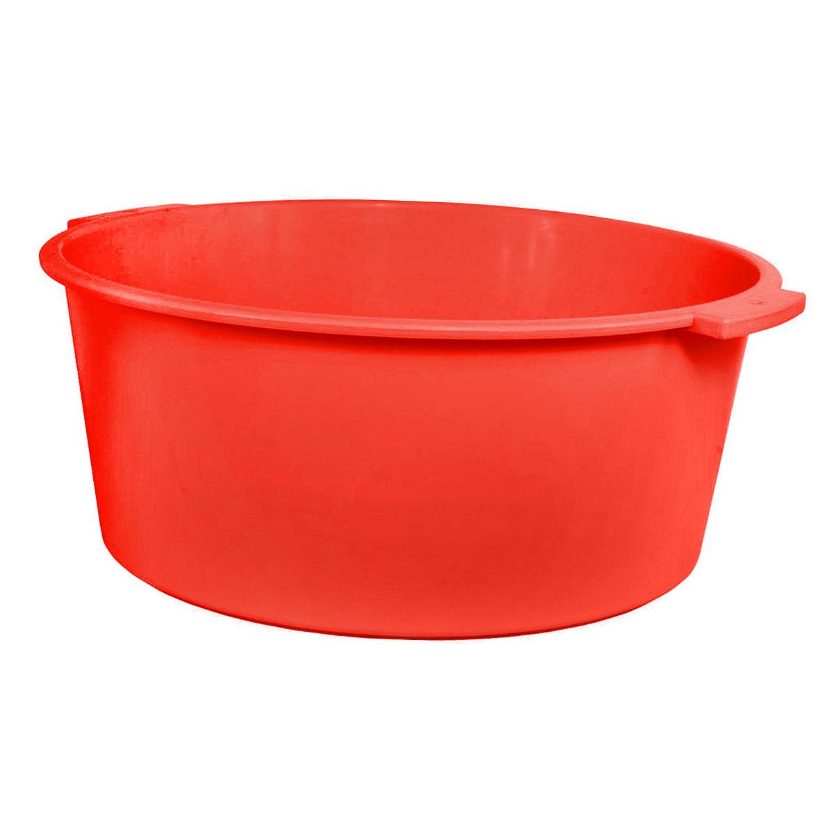 Таз Крепыш, цвет: красный, 15 лК351Таз Крепыш выполнен из прочного цветного пластика. Он предназначен для стирки и хранения разных вещей. По бокам имеются удобные ручки, которые обеспечивают надежный захват. Таз пригодится в любом хозяйстве. Размер: 44 см х 42 см х 17 см. Объем: 15 л.