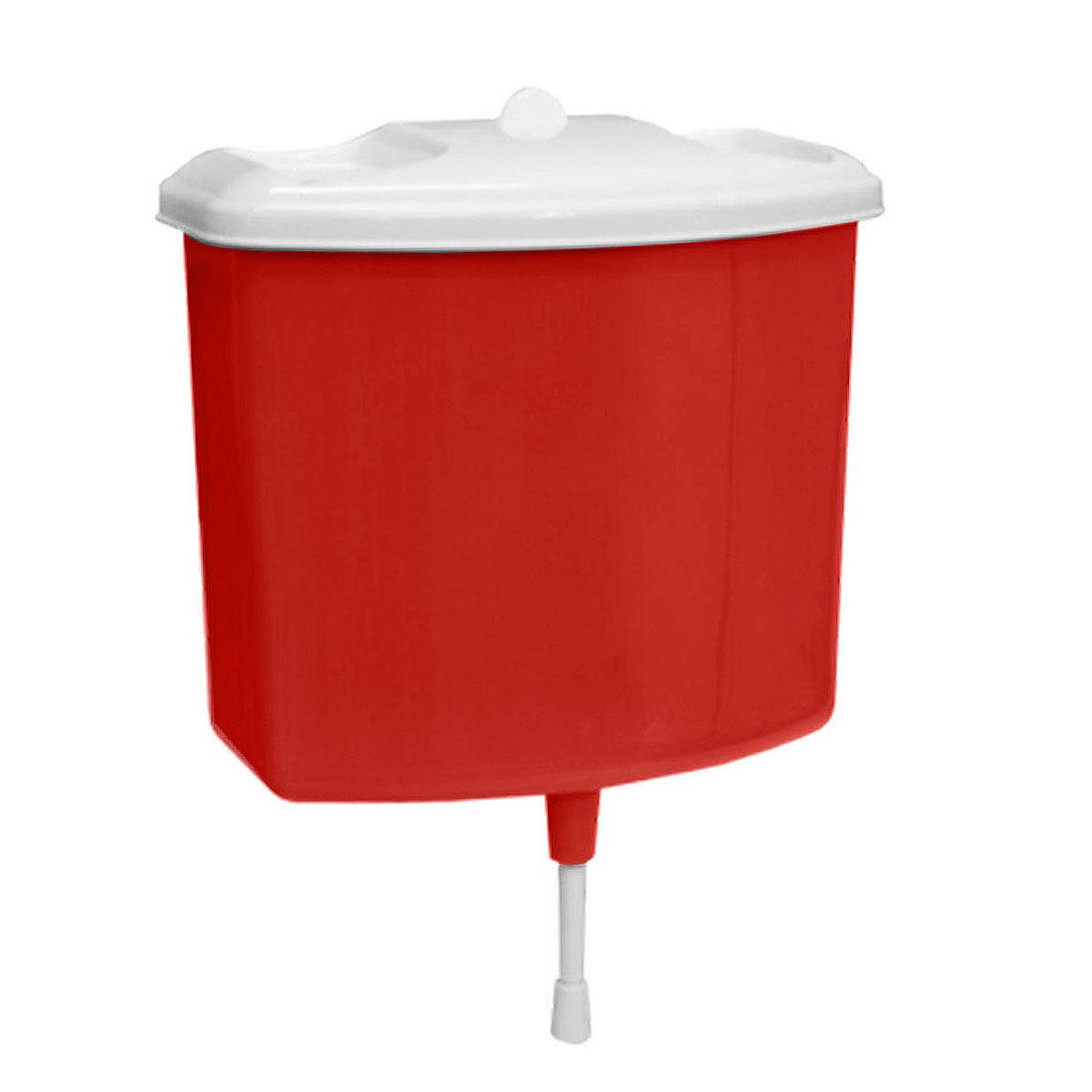 Рукомойник Альтернатива, цвет: красный, 5 лM367красныйРукомойник Альтернатива изготовлен из пластика. Он предназначен для умывания в саду или на даче. Яркий и красочный, он отлично впишется в окружающую обстановку. Петли предоставляют вертикальное крепление рукомойника. Рукомойник оснащен крышкой, которая предотвращает попадание мусора. Также на крышке имеет две выемки для мыла. Рукомойник Альтернатива надежный и удобный в использовании. Размер рукомойника: 26,5 см х 15 см. Высота (без учета крышки): 23 см.