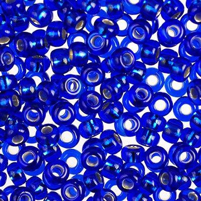 Бисер прозрачный Preciosa, с серебристой серединой, цвет: синий (37080), размер 10/0, 50 г172081Прозрачный бисер Preciosa, изготовленный из стекла круглой формы с среребристой серединой, позволит вам своими руками создать оригинальные ожерелья, бусы или браслеты, а также заняться вышиванием. В бисероплетении часто используют бисер разных размеров и цветов. Он идеально подойдет для вышивания на предметах быта и женской одежде. Изготовление украшений - занимательное хобби и реализация творческих способностей рукодельницы, это возможность создания неповторимого индивидуального подарка.