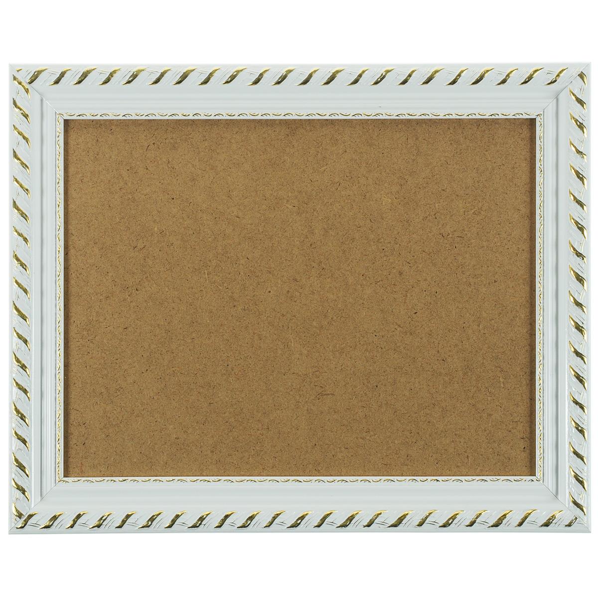 Багетная рама Kleopatra, цвет: белый, 30 х 40 см 1595-BL1595-BL Kleopatra (белый)Багетная рама Kleopatra изготовлена из дерева. Багетные рамы предназначены для оформления картин, вышивок и фотографий. Оформленное изделие всегда становится более выразительным и гармоничным. Подбор багета для картин очень важен - от этого зависит, какое значение будет иметь выполненная работа в вашем интерьере. Если вы используете раму для оформления живописи на холсте, следует учесть, что толщина подрамника больше толщины рамы и сзади будет выступать, рекомендуется дополнительно зафиксировать картину клеем, лист-заглушку в этом случае не вставляют. В комплекте - крепежные элементы, с помощью которых изделие можно подвесить на стену и задник. Размер картины: 30 см х 40 см. Размер рамы: 38 см х 48 см х 2 см.