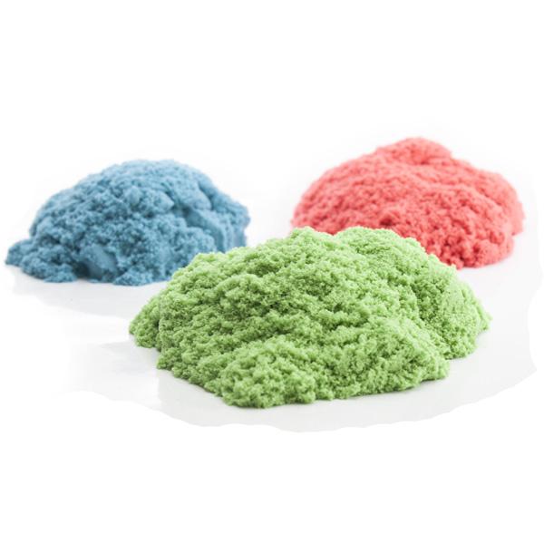 Кинетический цветной песок Waba Fun Kinetic Sand, 3 кг150-308Кинетический песок Waba Fun Kinetic Sand - уникальный материал для детского творчества. На первый взгляд напоминает влажный морской песок, но когда берешь его в руки - проявляются его необычные свойства. Он течет сквозь пальцы и в тоже время остается сухим. Он рыхлый, но из него можно строить разнообразные фигуры. Он приятный на ощупь, не оставляет следов на руках и может использоваться как расслабляющее и терапевтическое средство. Песок Waba Fun Kinetic Sand представляет собой смесь чистейшего кварцевого песка (98%) и специального связующего агента (2%). Абсолютно гипоаллергенен, не вызывает аллергии, бактерии в нем не живут, поэтому он безопасен для детей с трех лет. Важным преимуществом является то, что он не сохнет, легко собирается с поверхности и играть с ним можно снова и снова. Для игры с таким песком не требуются инструкции и руководства. С ним интересно играть как одному ребенку, так и нескольким одновременно. Развивает мелкую моторику,...