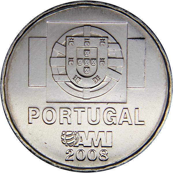 Монета номиналом 1,5 евро Международная медицинская помощь AMI. Португалия, 2008 годK421306Металл: Cu-Ni Диаметр: 26 мм Масса: 8,0 г Состояние: UNC (без обращения).
