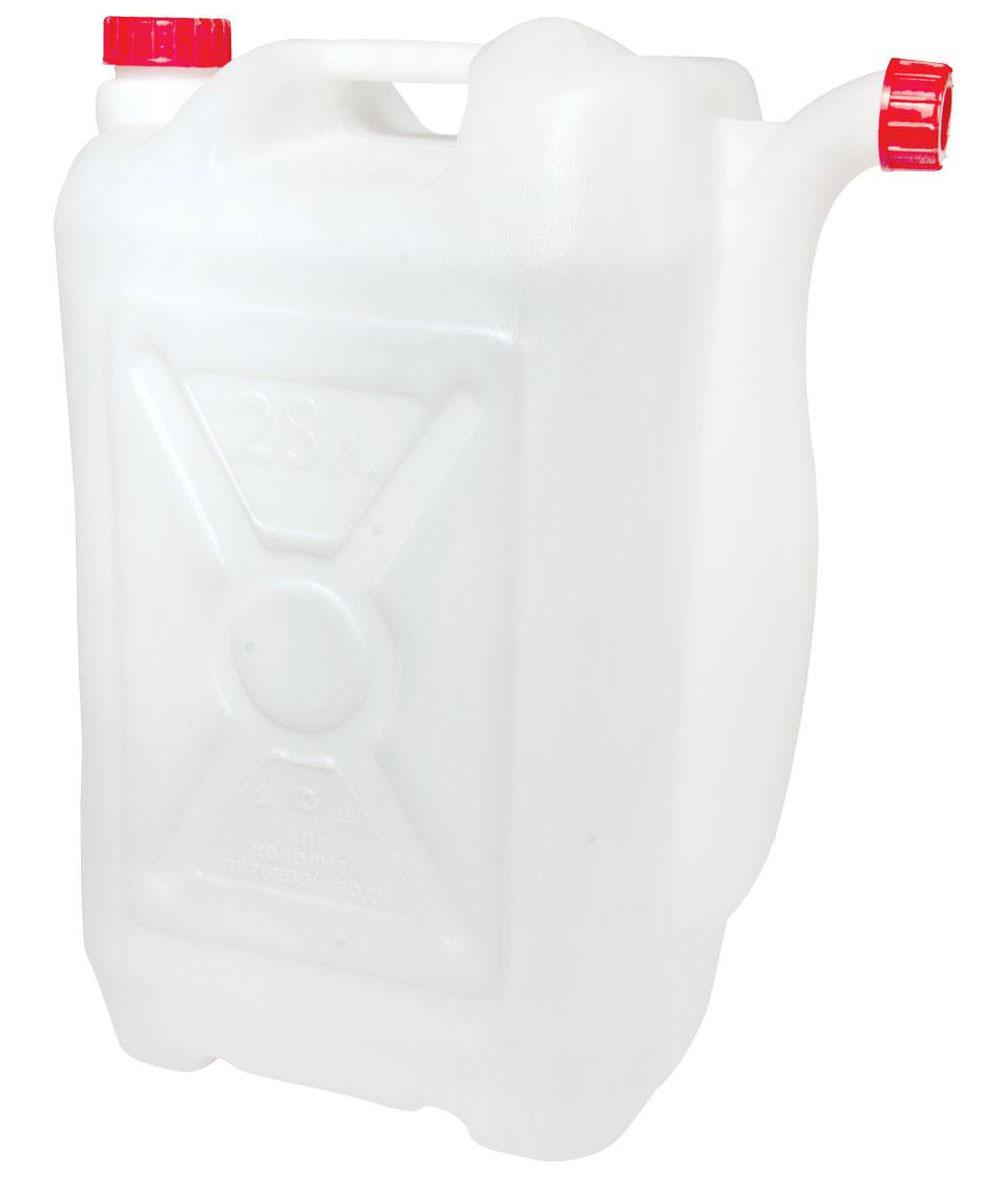 Канистра со сливом Альтернатива, 28 лМ051Канистра Альтернатива на 28 литров, изготовленная из прочного пластика, несомненно, пригодится вам во время путешествия. Предназначена для переноски и хранения различных жидкостей. Канистра оснащена сливом.
