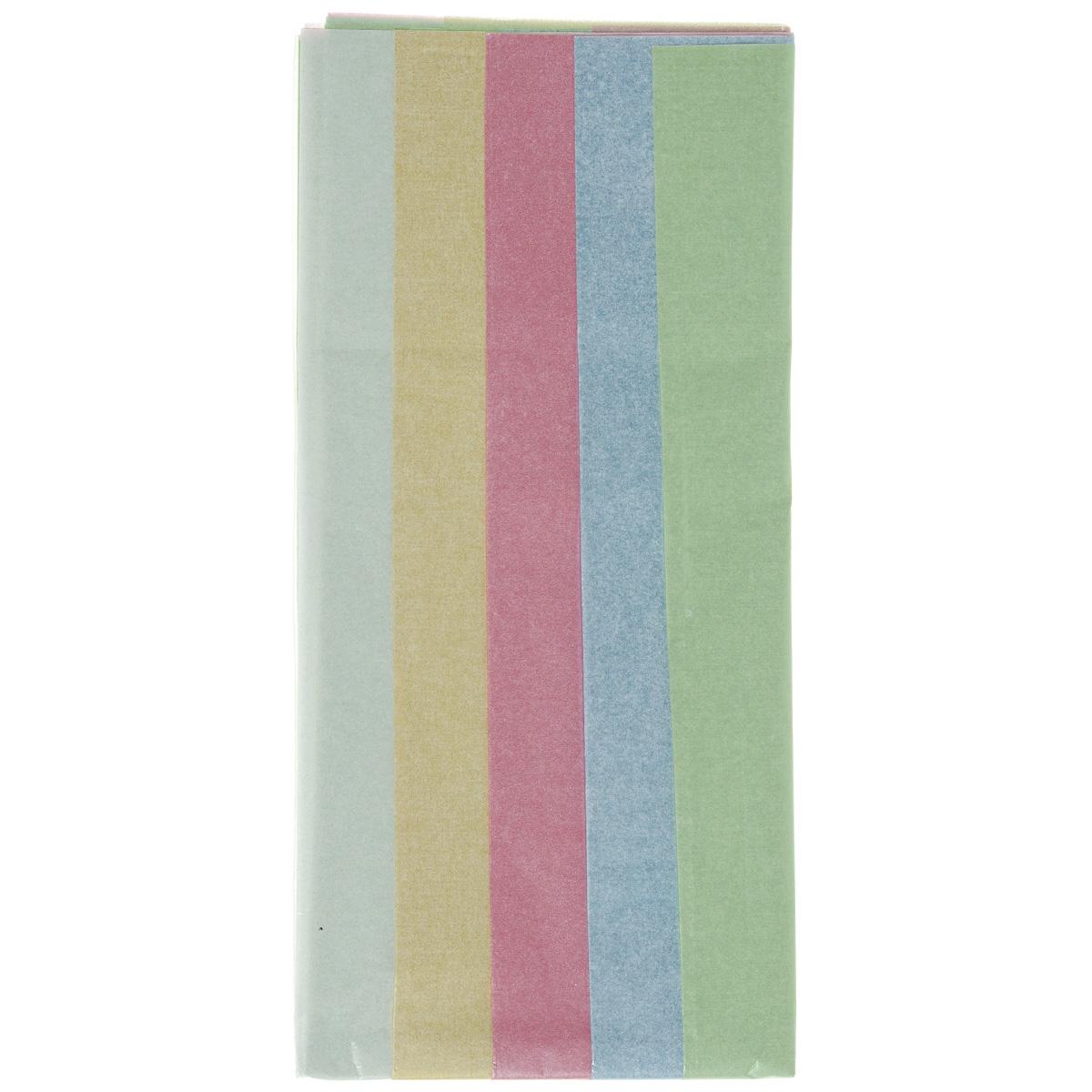 Бумага папиросная Folia, 50 см х 70 см, 5 листов. 77081337708133Бумага папиросная Folia - это великолепная тонкая и эластичная декоративная бумага. Такая бумага очень хороша для изготовления своими руками цветов и букетов с конфетами, топиариев, декорирования праздничных мероприятий. Также из нее получается шикарная упаковка для подарков. Интересный эффект дает сочетание мягкой полупрозрачной фактуры папиросной бумаги с жатыми и матовыми фактурами: креп-бумагой, тутовой и различными видами картона. Бумага очень тонкая, полупрозрачная - поэтому ее можно оригинально использовать в декоре стекла, светильников и гирлянд. В комплекте 5 листов разных цветов: белый, розовый, желтый, голубой, зеленый. Достаточно большие размеры листа и богатая цветовая палитра дают простор вашей творческой фантазии.