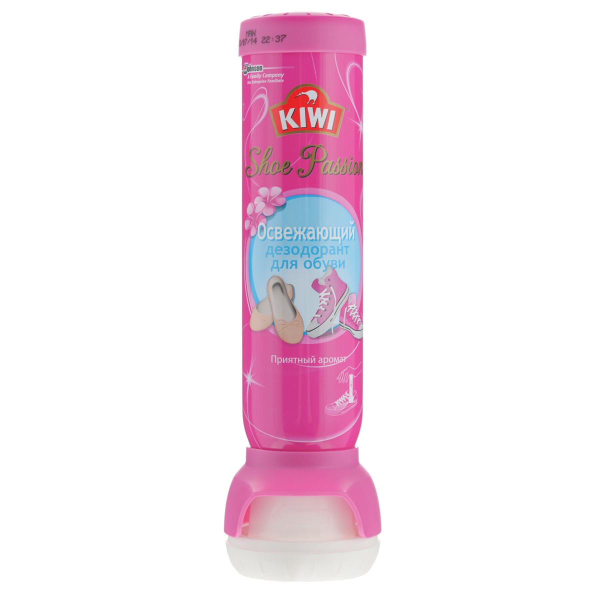 Дезодорант для обуви освежающий Kiwi Shoe Passion, 100 мл