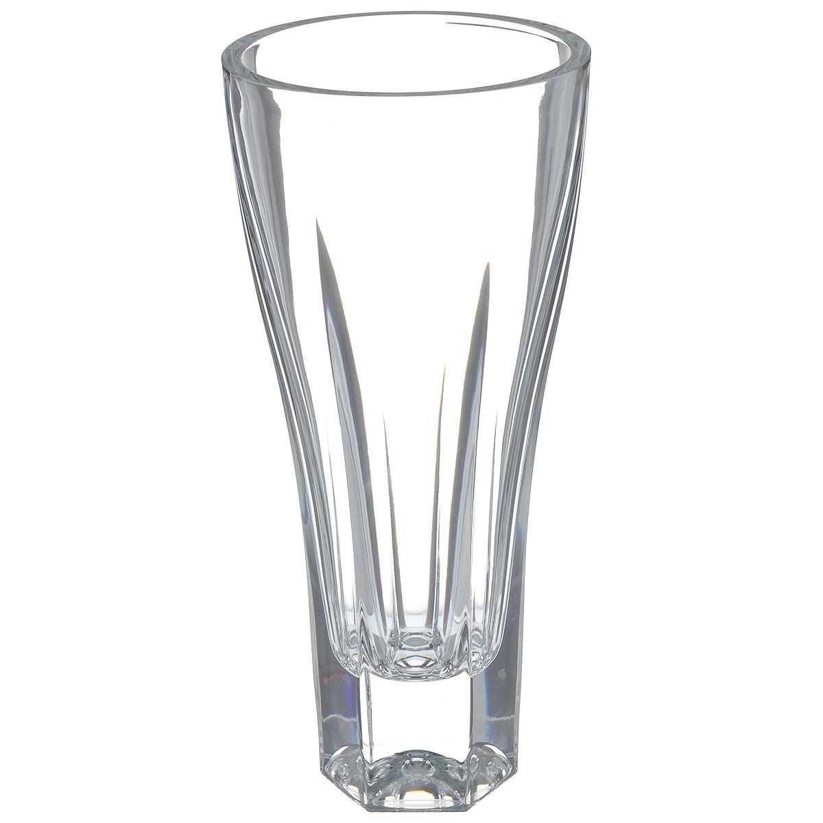 Ваза Crystal Bohemia, высота 30,5 см990/80240/0/44600/305-109Изящная ваза Crystal Bohemia изготовлена из хрусталя. Ваза оформлена рельефным рисунком, что делает ее изящным украшением интерьера. Ваза Crystal Bohemia дополнит интерьер офиса или дома и станет желанным и стильным подарком.