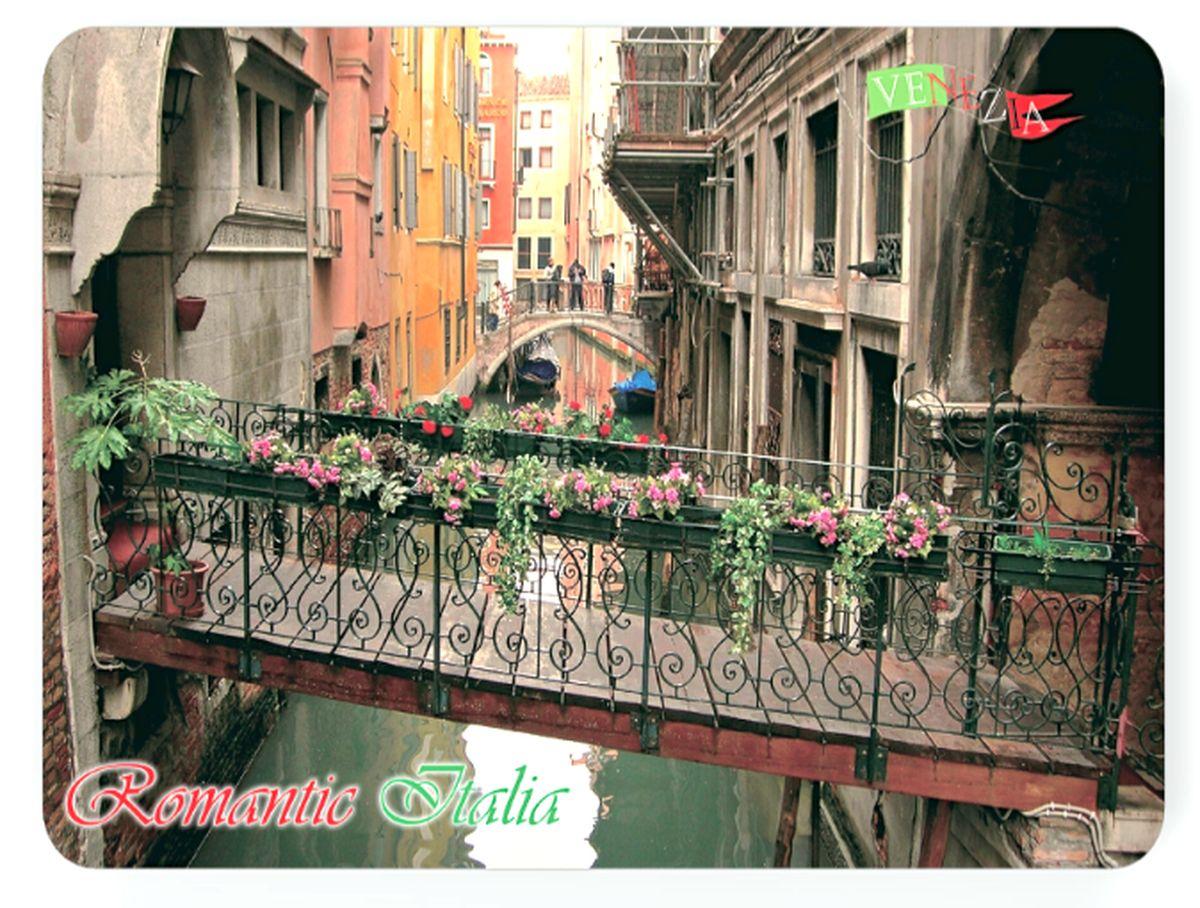 Подставка под горячее GiftnHome Венецианский балкон, пробковая, 40 см х 30 смPLM-B02-VeniceBПодставка под горячее GiftnHome Венецианский балкон изготовлена из пробки - натурального экологичного материала. Изделие декорировано изображением красивого вида с балкона. Подставка имеет защитное покрытие на лицевой стороне, которое обеспечивает стойкость к горячему и влаге. Предельная температура, которую выдерживает подставка, составляет 90°С. Изящный дизайн подставки прекрасно дополнит интерьер вашей кухни. Не рекомендуется погружать в воду полностью. Размер подставки: 40 см х 30 см.