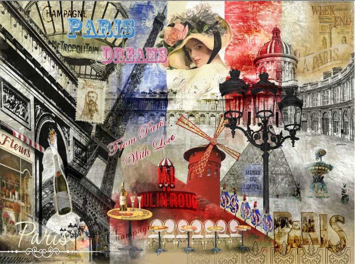Доска разделочная GiftnHome Парижские фантазии, стеклянная, 30 см х 20 смCB-01-PDREAMРазделочная доска GiftnHome Парижские фантазии выполнена из жароустойчивого стекла. Изделие, украшенное красочным изображением достопримечательностей Парижа, идеально впишется в интерьер современной кухни. Специальное покрытие вкладыша обеспечивает стойкость к влаге и высоким температурам. Изделие легко чистить от пятен и жира. Также доску можно применять как подставку под горячее. Доска оснащена резиновыми ножками, предотвращающими скольжение по поверхности стола. Разделочная доска GiftnHome Парижские фантазии украсит ваш стол и сбережет его от воздействия высоких температур ваших кулинарных шедевров. Можно мыть в посудомоечной машине. Размер доски: 30 см х 20 см х 0,4 см.