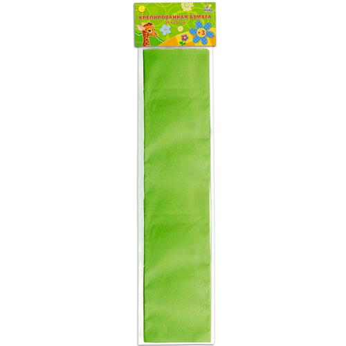 """Бумага крепированная """"Unnikaland"""", цвет: светло-зеленый КБ001"""