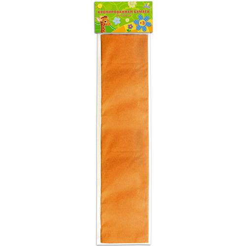 Бумага крепированная Unnikaland, цвет: оранжевыйКБ008Крепированная бумага Unnikaland отлично подойдет для упаковки хрупких изделий, при оформлении букетов и создании сложных цветовых композиций, для декорирования и других оформительских работ. Бумага обладает повышенной прочностью и жесткостью, хорошо растягивается, имеет жатую поверхность. Кроме того, крепированная бумага такая яркая и необычная, широко применяется для создания всевозможных ручных поделок. Превосходный повод увлечь ребенка квиллингом, развивая интерес к художественному творчеству, эстетический вкус и восприятие. Увеличивая желание делать подарки своими руками, воспитывая самостоятельность и аккуратность в работе, такая бумага поможет вашему ребенку раскрыть свои таланты.