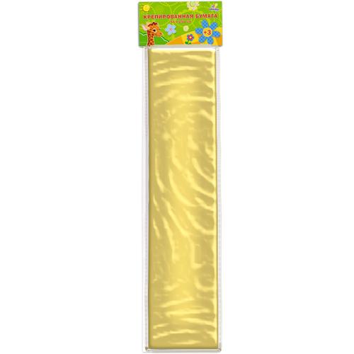 Бумага крепированная Unnikaland, перламутровая, цвет: золотойКБ015Крепированная бумага Unnikaland с перламутровым блеском отлично подойдет для упаковки хрупких изделий, при оформлении букетов и создании сложных цветовых композиций, для декорирования и других оформительских работ. Бумага обладает повышенной прочностью и жесткостью, хорошо растягивается, имеет жатую поверхность. Кроме того, крепированная бумага очень яркая и необычная, широко применяется для создания всевозможных ручных поделок. Превосходный повод увлечь ребенка квиллингом, развивая интерес к художественному творчеству, эстетический вкус и восприятие. Увеличивая желание делать подарки своими руками, воспитывая самостоятельность и аккуратность в работе.