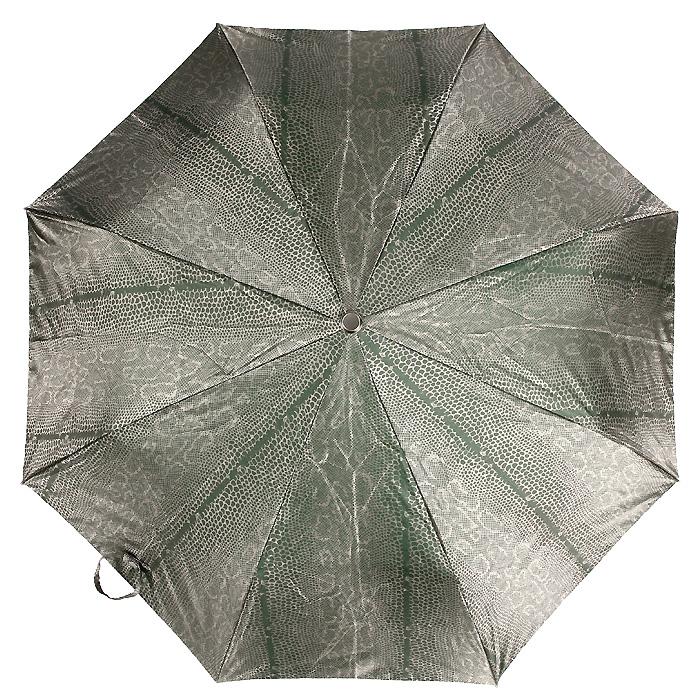 Зонт женский Edmins, автомат, 3 сложения, цвет: зеленый, золотистый. 303130303130Автоматический зонт Edmins в 3 сложения даже в ненастную погоду позволит вам оставаться стильной и элегантной. Каркас зонта выполнен из восьми металлических спиц, удобная рукоятка - из прорезиненного пластика. Зонт имеет полный автоматический механизм сложения: купол открывается и закрывается нажатием кнопки на рукоятке, стержень складывается вручную до характерного щелчка. Купол зонта выполнен из прочного полиэстера зеленого и золотистого цветов. На рукоятке для удобства есть небольшой шнурок, позволяющий надеть зонт на руку тогда, когда это будет необходимо. К зонту прилагается чехол.