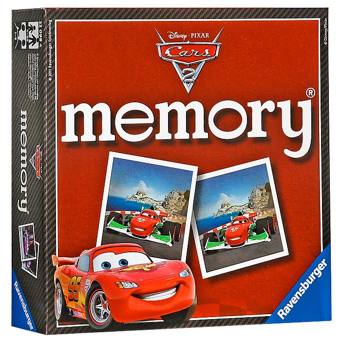 Ravensburger Настольная игра Мемори: Тачки 222098Настольная игра Ravensburger Мемори: Тачки 2 - это увлекательнейший способ времяпрепровождения. Для начала игры нужно перемешать все карточки и разложить на столе картинками вниз. Для запоминания картинок и их расположения карточки на короткое время открываются, затем их закрывают, и игра начинается. Первый игрок открывает любые две карточки. Если изображение на них совпало, то игрок забирает их себе и продолжает игру до тех пор, пока не попадутся две разные картинки. В этом случае карточки возвращаются на место, а игру продолжает следующий игрок. Побеждает тот, кто собрал наибольшее количество пар. Комплект игры включает 72 картонные карточки (36 пар) с изображениями персонажей мультфильма Cars 2 (Тачки 2).