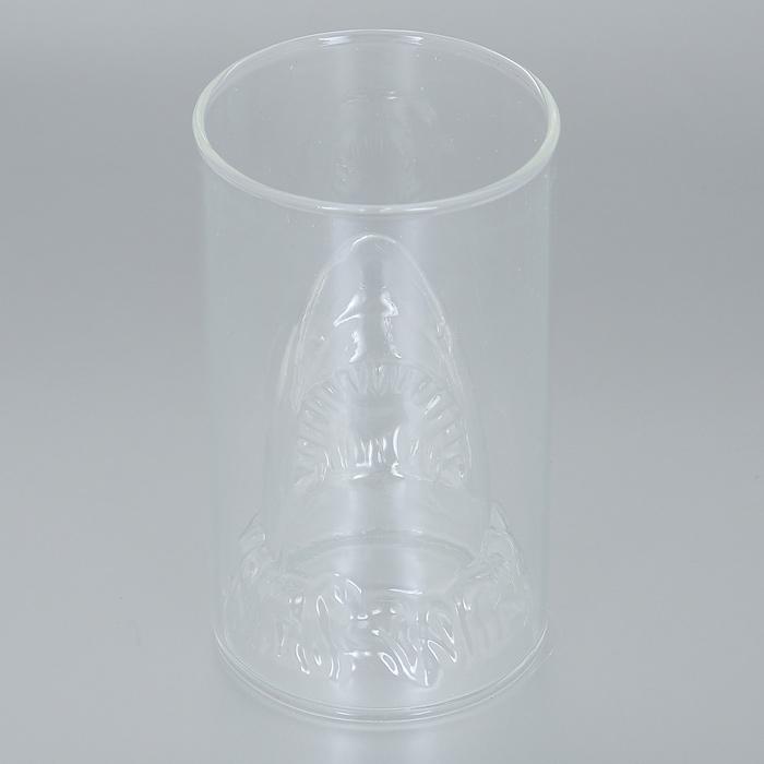 Бокал Эврика Акула, 350 мл96307Необычный стакан для холодных напитков Эврика Акула, дно которого приняло форму акульей головы, создает красивую морскую иллюзию каждый раз, когда вы наливаете в него жидкость. Прозрачные разноцветные коктейли в таком бокале будут выглядеть очень оригинально. Отличный выбор для морской или пиратской вечеринки! Высота бокала: 13 см. Диаметр бокала: 7,5 см.