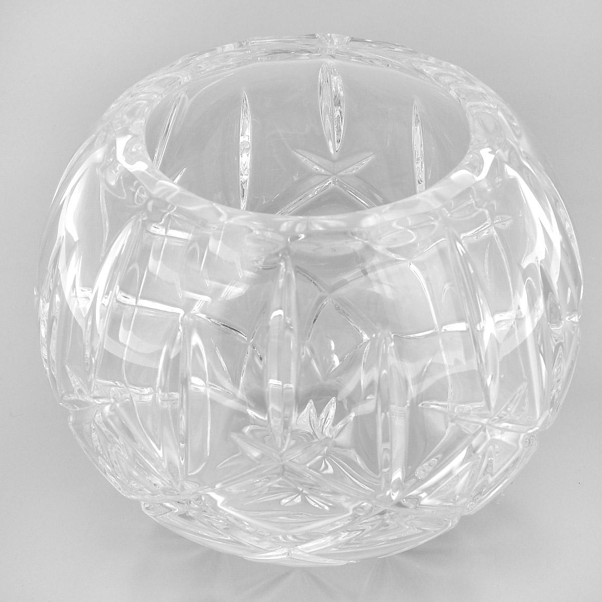 Ваза Crystal Bohemia Шар, диаметр 10 см290/69511/0/52820/175-109Ваза Crystal Bohemia Шар выполнена из прочного высококачественного хрусталя и декорирована рельефом. Она излучает приятный блеск и издает мелодичный звон. Ваза сочетает в себе изысканный дизайн с максимальной функциональностью. Ваза не только украсит дом и подчеркнет ваш прекрасный вкус, но и станет отличным подарком.