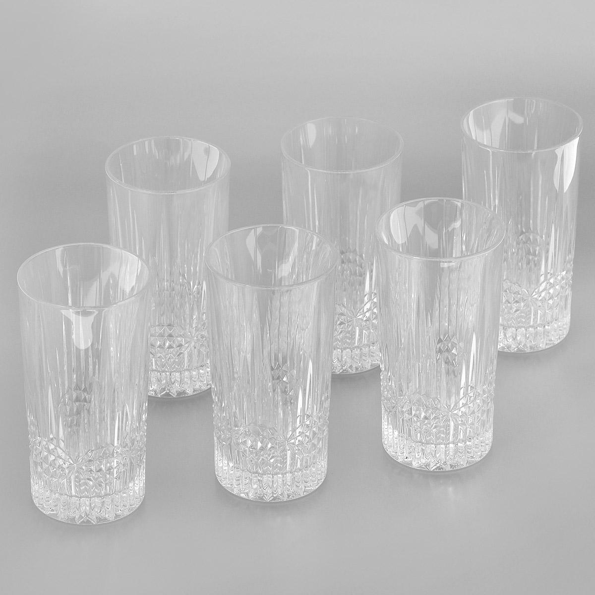Набор стаканов для воды Crystal Bohemia Vibes, 300 мл, 6 шт990/20105/0/24355/350-609Набор для воды Crystal Bohemia Vibes состоит из шести стаканов. Изделия выполнены из прочного высококачественного хрусталя и декорированы рельефом. Они излучают приятный блеск и издают мелодичный звон. Набор предназначен для подачи воды. Набор для воды Crystal Bohemia Vibes прекрасно оформит интерьер кабинета или гостиной и станет отличным дополнением бара. Такой набор также станет хорошим подарком к любому случаю. Диаметр по верхнему краю: 7 см. Высота стакана: 14 см. Диаметр основания: 6,3 см.