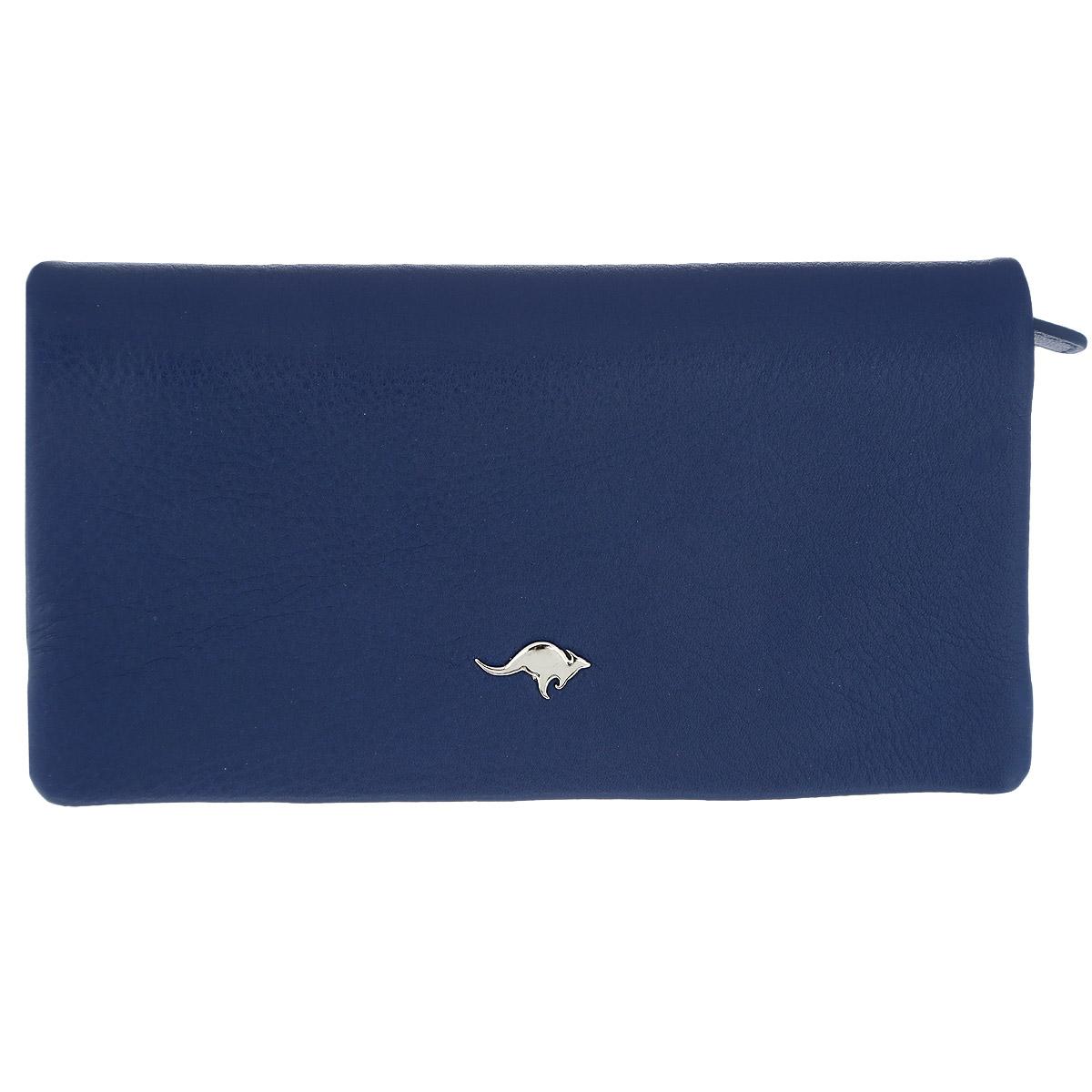 Портмоне-клатч Cangurione, цвет: синий. 2196-015 A/Blue2196-015 A/Blue