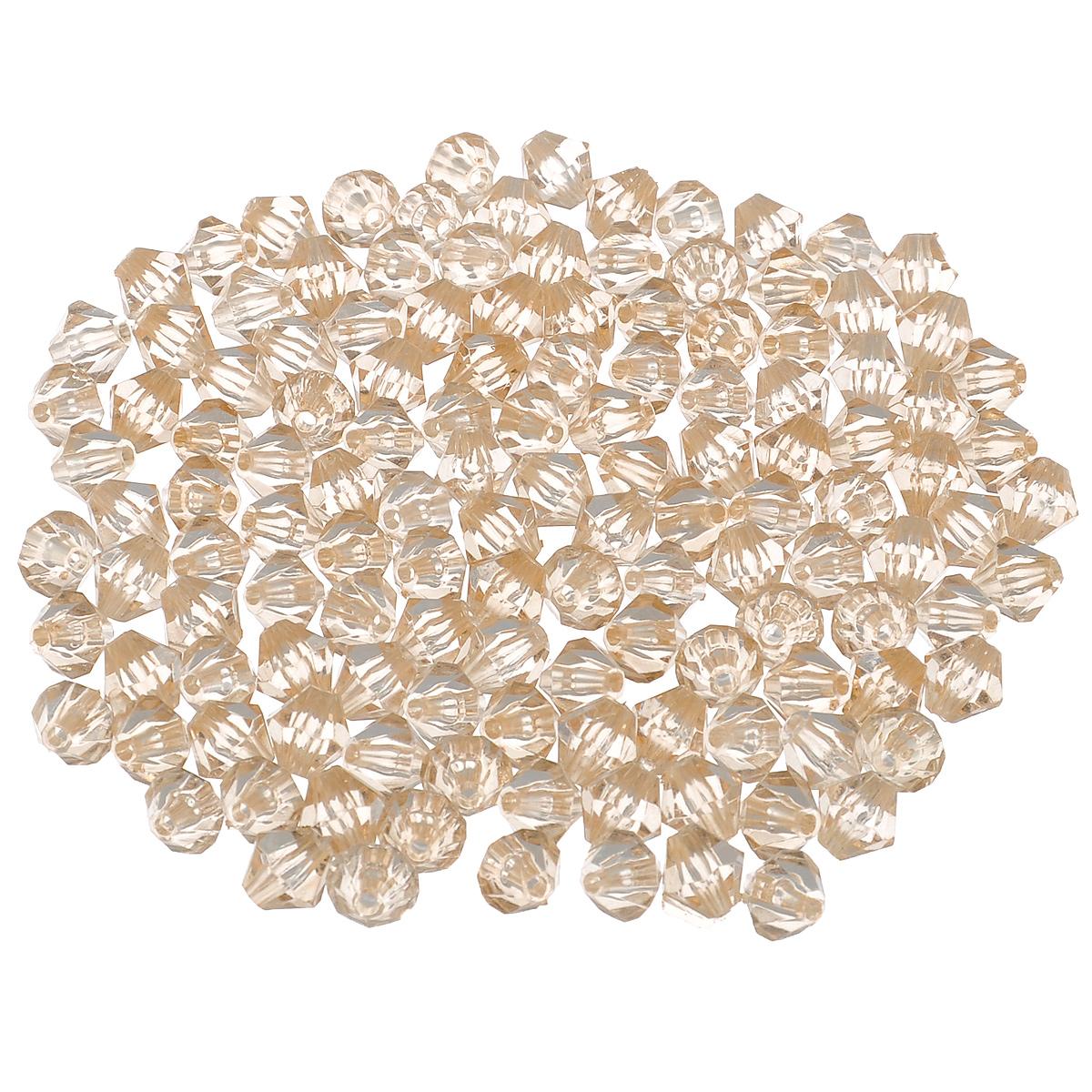 Бусины Астра, цвет: бежевый (76), 8 мм х 9 мм, 25 г. 684980_76684980_76Набор бусин Астра, изготовленный из акрила, позволит вам своими руками создать оригинальные ожерелья, бусы или браслеты. Одноцветные ромбовидные бусины оригинального и яркого дизайна оснащены рельефными, многогранными поверхностями. Изготовление украшений - занимательное хобби и реализация творческих способностей рукодельницы, это возможность создания неповторимого индивидуального подарка.