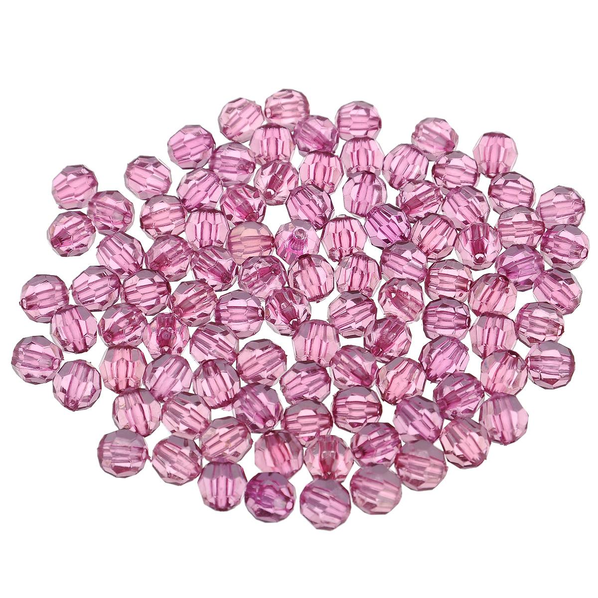 Бусины Астра, цвет: фиолетовый (21), диаметр 8 мм, 25 г. 684976_21684976_21Набор бусин Астра, изготовленный из акрила, позволит вам своими руками создать оригинальные ожерелья, бусы или браслеты. Круглые бусины оснащены рельефными, многогранными поверхностями. Изготовление украшений - занимательное хобби и реализация творческих способностей рукодельницы, это возможность создания неповторимого индивидуального подарка.