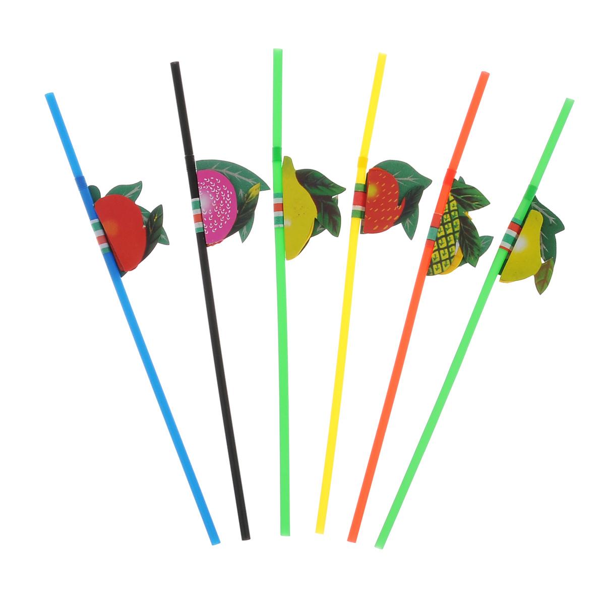 Трубочки для коктейлей Fackelmann