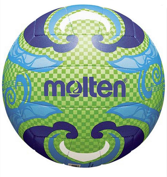 Мяч для пляжного волейбола Molten. Размер 5V5B1502-LМяч для пляжного волейбола Molten выполнен из тонкой синтетической кожи, обеспечивающей мягкий контакт с рукой. Машинное шитье. Мяч доставляется в ненакачанном виде.