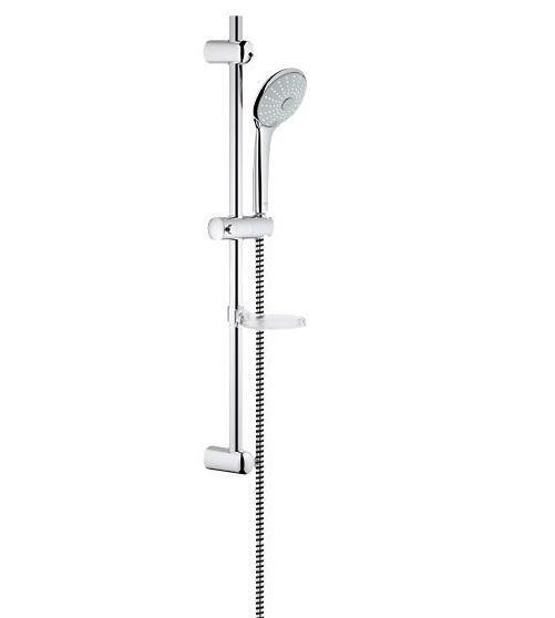 Душевой гарнитур GROHE Euphoria 110 (ручной душ, штанга 600 мм, шланг 1500 мм) (27243001) 4005176899799