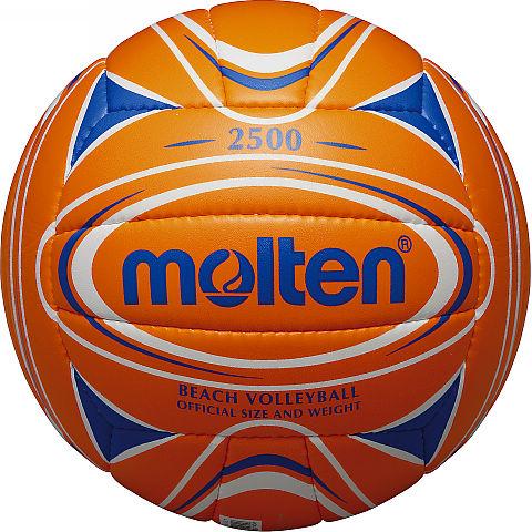 Мяч для пляжного волейбола Molten, цвет: оранжевый, синий. Размер 5V5B2500-OBМяч для пляжного волейбола Molten изготовлен из мягкой синтетической кожи, обеспечивающей мягкий контакт с рукой. Отличные игровые характеристики. Ручное шитье. Имеет официальный вес и размер.