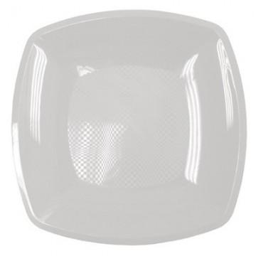 Набор одноразовых плоских тарелок Buffet, цвет: белый, 18 х 18 см, 6 шт285481Набор Buffet состоит из 6 плоских тарелок, выполненных из полипропилена и предназначенных для одноразового использования. Тарелки подойдут для различных пищевых продуктов. Одноразовые тарелки будут незаменимы при поездках на природу, пикниках и других мероприятиях. Они не займут много места, легки и самое главное - после использования их не надо мыть. Размер тарелки: 18 см х 18 см. Высота тарелки: 1,7 см.
