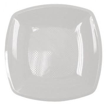 Набор одноразовых плоских тарелок Buffet, цвет: белый, 23 см х 23 см, 6 шт285483Набор Buffet состоит из 6 плоских тарелок, выполненных из полипропилена и предназначенных для одноразового использования. Тарелки подойдут для различных пищевых продуктов. Одноразовые тарелки будут незаменимы при поездках на природу, пикниках и других мероприятиях. Они не займут много места, легки и самое главное - после использования их не надо мыть. Размер тарелки: 23 см х 23 см. Высота тарелки: 1,7 см.