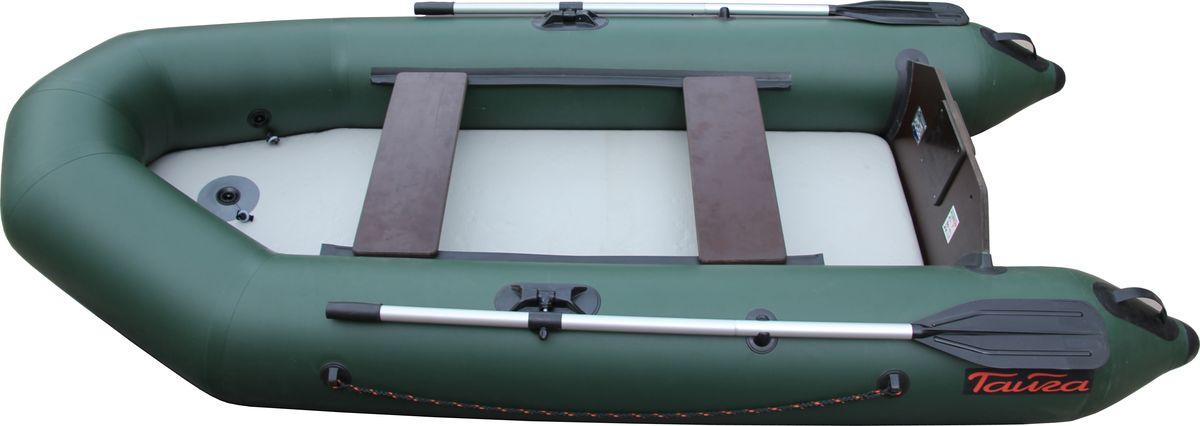 Лодка Leader Тайга-290 НД Airdeck0042604Leader Тайга-290 Airdeck - надувная моторная лодка, совмещающая в себе возможности гребных и моторных. У такой лодки имеется жестко вклеенный (стационарный) транец из морской фанеры толщиной 18 мм. Лодка легко выходит в глиссирующее положение с моторами малой мощности 4-5 л. с. Отличительная особенность - сплошной надувной пол высокого давления (Airdeck). Дно выполнено из ламинированного текстиля с использованием армировки из нитей. Благодаря такой конструкции надувная лодка становится легче (примерно на 7 кг), а значит, ее легче транспортировать, что является несомненным плюсом. Быстрая и простая сборка и разборка лодки, надувное дно можно извлечь из лодки в любой момент. Надувное дно лодки универсально, его можно использовать как ложе в палатке, или в качестве надувного матраса для купания. А в том случае, если один из баллонов начал пропускать воздух, airdeck оставит дно ровным. Конструкция дна получается довольно жесткой и прочной, что позволяет без опасений...