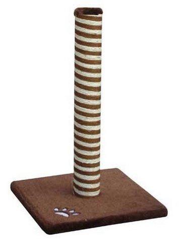 Когтеточка Fauna Classic, сизаль, цвет: коричневый, 40 см х 40 см х 63 см16394Когтеточка Fauna Classic поможет сохранить мебель и ковры в доме от когтей вашего любимца, стремящегося удовлетворить свою естественную потребность точить когти. Когтеточка изготовлена из сизаля, квадратное основание выполнено из дерева и обтянуто плюшем. Товар продуман в мельчайших деталях и, несомненно, понравится вашей кошке. Всем кошкам необходимо стачивать когти. Когтеточка - один из самых необходимых аксессуаров для кошки. Для приучения к когтеточке можно натереть ее сухой валерьянкой или кошачьей мятой. Когтеточка поможет вашему любимцу стачивать когти и при этом не портить вашу мебель. Товар сертифицирован.